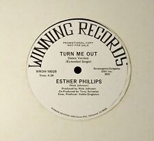 """12"""" MODERN SOUL Esther Phillips Winning 1002 Turn Me Out"""