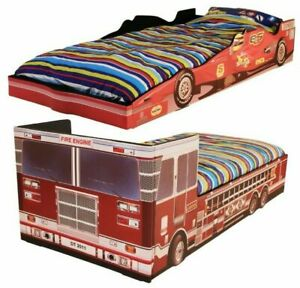 Kids Bed Boys Childrens Bed with Mattress Option