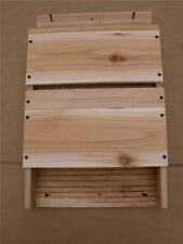 Bat House 2 Chambers Double Celled (Free Shipping)handmade by cedarnest