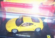 Ferrari Gt Collection 360 MODENA 1999 1:43 BROCHURE NEW