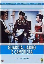 DvD GUARDIA LADRO E CAMERIERA - (1958) Nino Manfredi   ......NUOVO