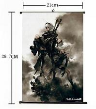"Hot Japan Anime Game NieR: Automata Home Decor Poster Wall Scroll 8""×12"" 02"