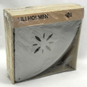"IKEA ""Lillholmen"" Bathroom Corner Shelf 16043, Stainless Steel 7 1/2"", New NIB"