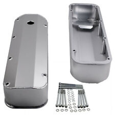For BBF Big Block Ford 429 460 Fabricated Aluminum Stain Tall Valve Covers Bolts