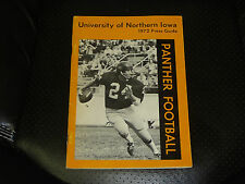 1972 NORTHERN IOWA COLLEGE FOOTBALL MEDIA GUIDE   EX-MINT  BOX 11