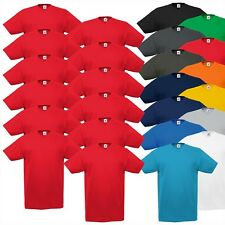 12er Pack Valueweight V-Neck T-Shirt V-Ausschnitt Fruit of the Loom Shirt T 5XL