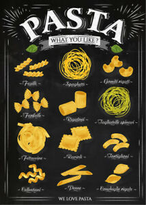 Reproduction 'Pasta' Poster