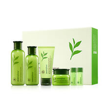 Innisfree Green Tea Balancing Special Skin Care (Skin + Lotion + Cream) Set