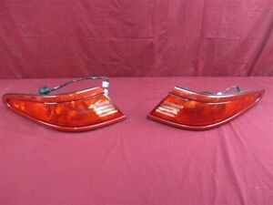 NOS OEM Lincoln Mark VIII LSC Toreador Red Tail Lamp Assembly 1997-98 PAIR