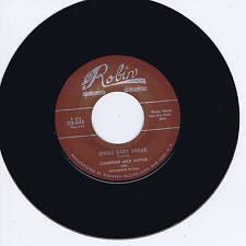 CHAMPION JACK DUPREE - SHAKE BABY SHAKE / HIGHWAY BLUES (Hot R&B Sax/PianoJIVER)