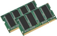 2GB PC2700 LAPTOP RAM MEMORY 1GB x 2 DDR 333 Dell inspiron 1150 5160 8600 9200