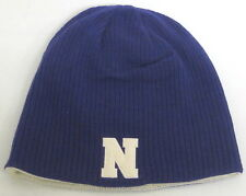 Northwestern Wildcats Multi-Color OSFA Reversible Knit Hat By adidas