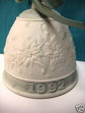 Christmas Bell 1992 Xmas By Lladro Retired 1992 #5913