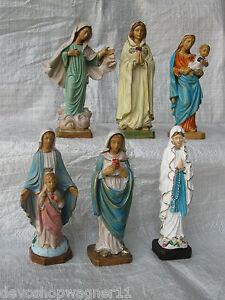 Heilige Maria, Madonna, Lourdes, Guadalupe, 15 cm Kunststofffigur Ihrer Wahl