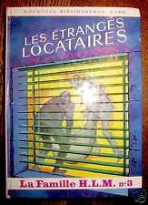 BR - LES ETRANGES LOCATAIRES famille HLM Bonzon EO 1966