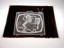 #1505 PHOTO NEGATIVE -  ADVERTISING - 1967 NISS FURNITURE - MILWAUKEE - TV