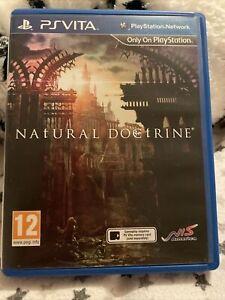 Natural Doctrine PS Vita Original Box / Case & Cover *NO CART*
