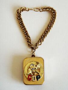 Vintage  Swiss Reuge Music Box Key Chain