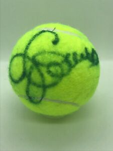 Jimmy Connors Signed Auto Autographed Wilson Tennis Ball JSA COA HOF QTY