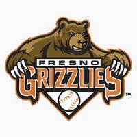Fresno Grizzlies PCL Logo MLB DieCut Vinyl Decal Sticker Buy 1 Get 2 FREE