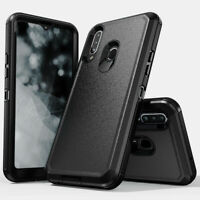 For Samsung Galaxy A20s Shockproof Armor Rugged Hard Dual Defender Case Cover