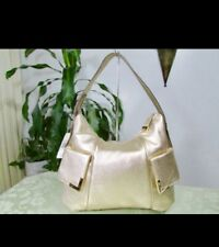 NWT Michael Kors Beverly Pale Gold Soft Leather Large Hobo Purse MSRP$298