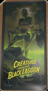 Juan Ramos Creature From The Black Lagoon Print Poster #/250 Universal Monsters