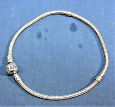 Pandora Sterling Silver Bracelet 9''