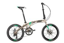 Folding Bike 7 Speed Shimano Gears 20 Inch Wheels With Carry Bag Trinx