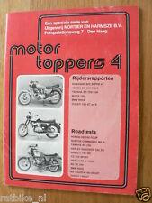 MOTOR TOPPER 4 ROADTEST,BENELLI 750 SEI,HERCULES W2000,BMW R90S,DUCATI 750 GT,MV