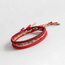 Buddhist Knots Rope Tibetan Buddhist Bracelet Handmade Lucky Rope Bracelet Luck