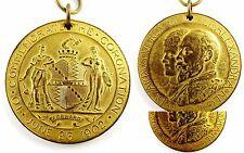 1902 GREAT BRITAIN KING EDWARD VII & QUEEN ALEXANDRA CORONATION MEDAL RARITY