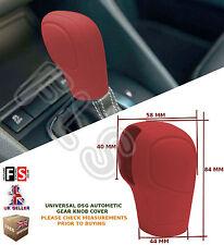 UNIVERSAL AUTOMATIC CAR DSG SHIFT GEAR KNOB COVER PROTECTOR RED–Kia