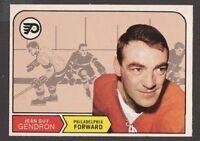 1968-69  OPC O PEE CHEE  # 185  JEAN GUY GENDRON   INV  J3074