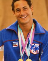 "~~ GREG LOUGANIS Authentic Hand-Signed ""USA Olympic diver"" 8x10 photo ~~"