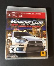 Midnight Club Los Angeles [ Complete Edition ] (PS3) NEW