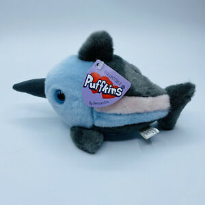 """SWIBCO Puffkins MACK the Swordfish Plush 5"""" with Tags Style # 6799 2002"""