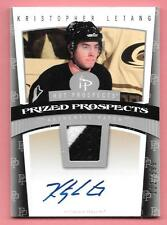 06/07 Hot Prospects #129 Kristopher Letang 2 Color Patch Autograph RC #112/599