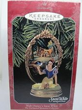 1998, SNOW WHITE, THE ENCHANTED MEMORIES COLLECTION, HALLMARK KEEPSAKE ORNAMENT