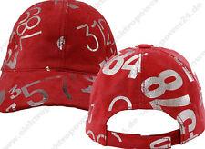freizeit-mütze de Suède en rouge chapeau/BONNET/Hat/casquette cuir nappa NEUF