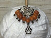 Puppy Paw Knitting Stitch Marker Set (SNAG FREE)- Set of 9