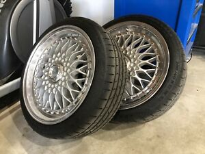 Lenso BSX wheels and tyres (BBS Style)