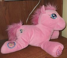 "My Little Pony Pinkie Pie Plush 25th Anniversary Pink Large Toy Stuffed 20"" Nice"