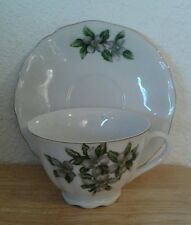 R W Japan PORCELAIN~HAND PAINTED TEA CUP AND SAUCER~VINTAGE