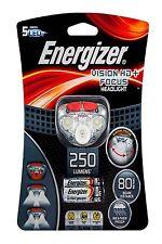 Energizer VISION HD+ FOCUS HEADLIGHT+3xAAA, 5 LEDs, 250lm, 80m Beam USA Brand