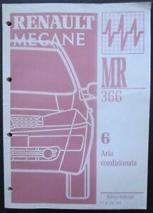 RENAULT MEGANE II manuale riparazione originale aria condizionata 2002
