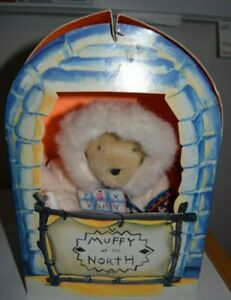 """Muffy Vanderbear """"Muffy of The North"""" new in box TAG Limited Edition 1994"""