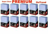 75x Ultra Pro CLEAR TOPLOADER Rigid Card Protector Pokemon Sports TOP LOADERS