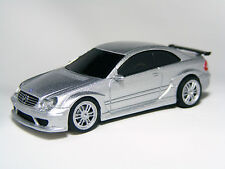 1:64 Scale Mercedes-Benz CLK DTM AMG Silver Diecast Miniature Car NFS