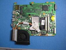 Motherboard für HP Compaq CQ71 mit  Cpu und  Grafikkarte+Lufter+Heatzink